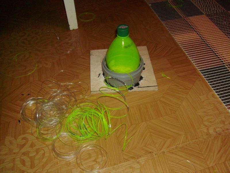 Станок для резки пластиковой бутылки своими руками